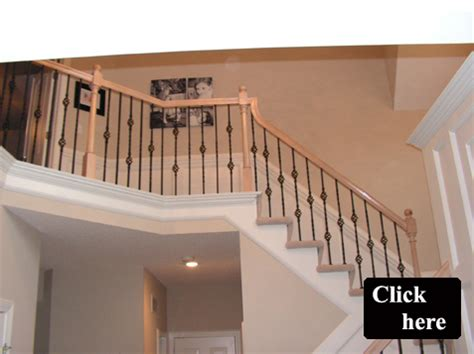 Wrought Iron Banisters Iron Spindle Gallery Before And After Kc Wood