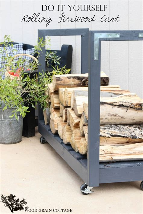 14 easy diy outdoor firewood racks to keep those logs