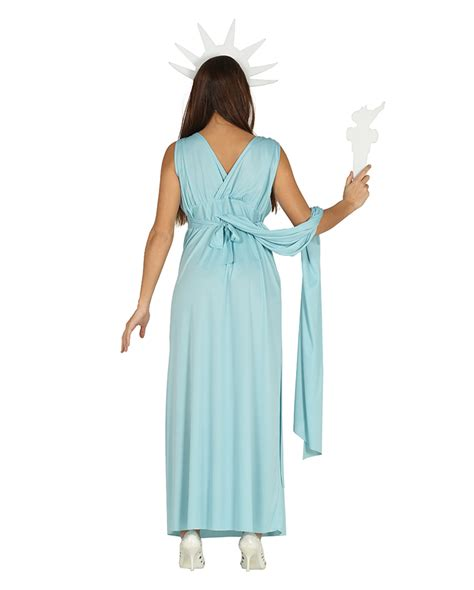 without its dressing style costumes makeup and its jewellery statue of liberty costume for mottoparty horror shop com