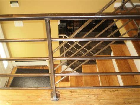 Tubular Steel Handrail fabricator ny pipe tubular steel railing stair