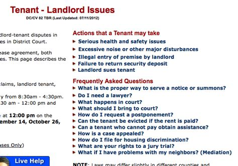 rights when renting a room how can i hold my landlord accountable when something goes wrong