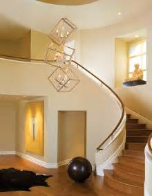 High Ceiling Entryway Interior Modern 2 Story Entryway Lighting Design With