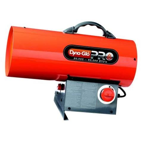 dyna glo pro 60 000 btu forced air propane portable heater