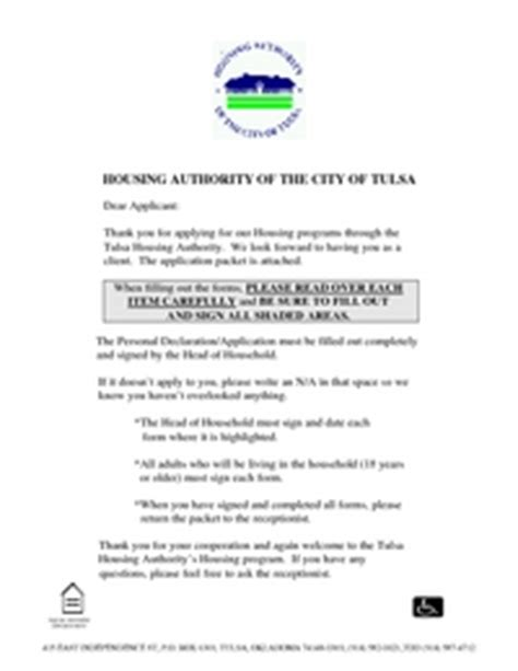 tulsa housing authority housing and apartment applications section 8 applications