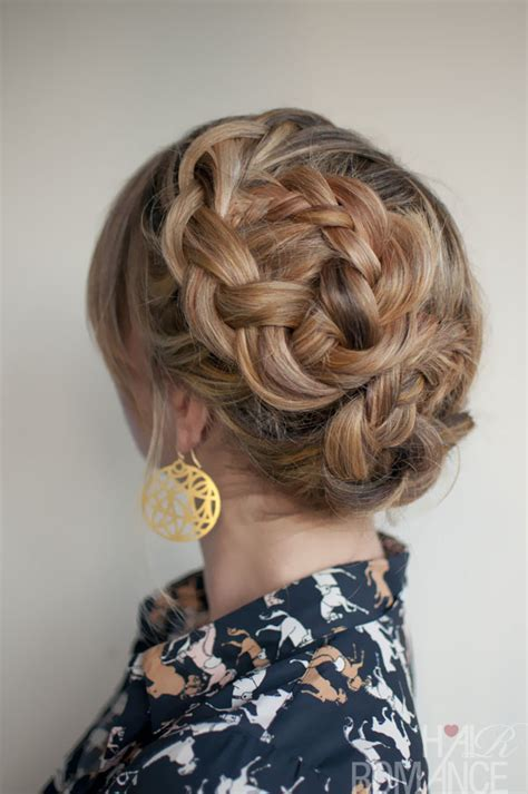 asysmetrical braids romantic asymmetrical double dutch braids updo