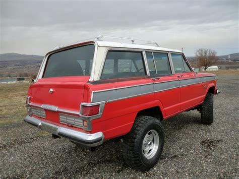 classic jeep wagoneer 1976 jeep wagoneer 401 v8 a c ps rot free clean classic