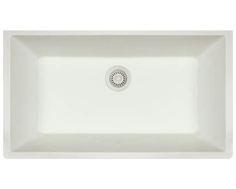 white undermount kitchen sinks single bowl white undermount kitchen sinks single bowl mr direct 848