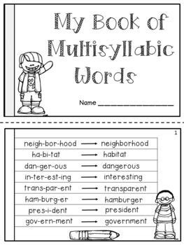 Multi Syllable Words Worksheets by Best 25 Syllable Ideas On Syllables