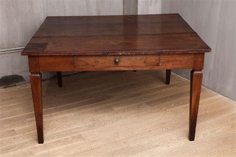 Dining Room Table With Drawers by Italian Walnut Dining Table With Drawers Late 18th
