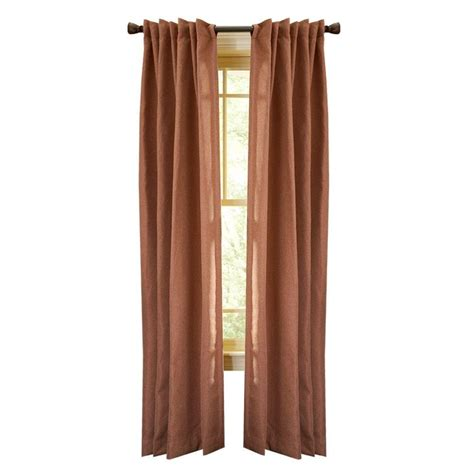 cinnamon curtains martha stewart living cinnamon stick thermal tweed back