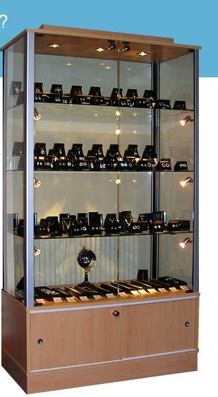 Krystal Roks   Hotel Jewellery Display Cabinet