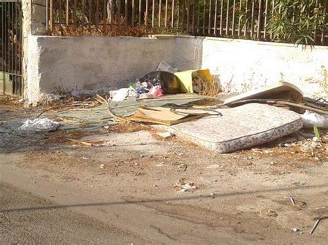 greco mobili palermo palermo eternit e rifiuti ingombranti in via schillaci