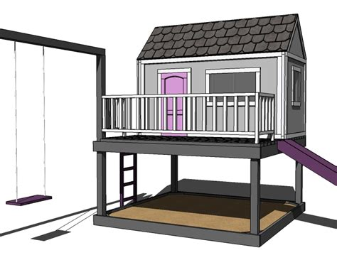 diy playhouse plans build it yourself playhouse plans 187 woodworktips
