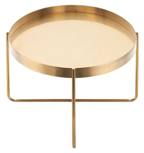 Gold Metal Coffee Table Gaultier 54 Quot Gold Metal Coffee Table Hgde130 Nuevo