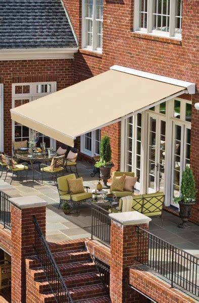 Solair Retractable Awnings by Penn Solair Retractable Awnings Featuring