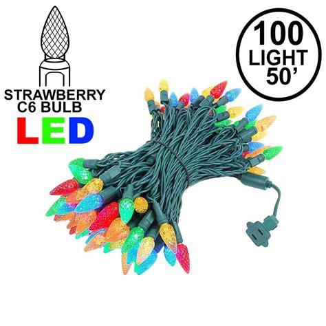 100 led mini lights c6 led 100 light multi colored strawberry mini lights