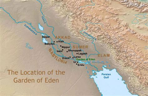 Location Of Garden Of by Genesis 3 15 And I Will Put Enmity Between Thee And The