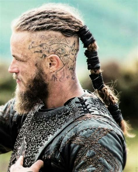 ragnar hair ragnar head tattoos google search tattoos pinterest
