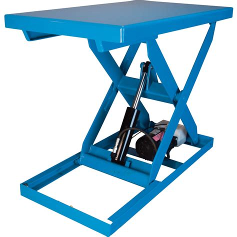 bishamon optimus series electric hydraulic lift table