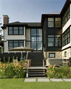 Black Exterior Windows Ideas Black Houses Home Exterior Paint Ideas
