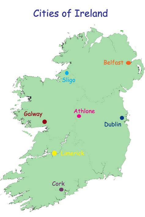 city map of ireland primary schools
