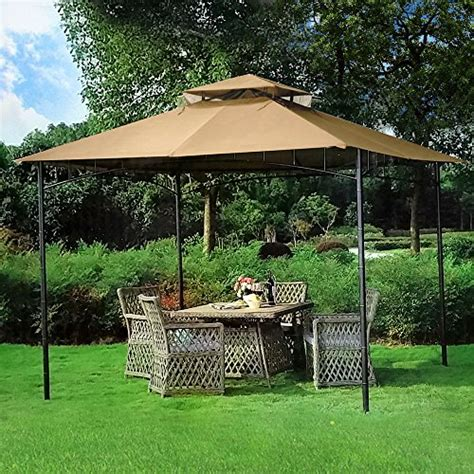 gazebo furniture 10 x 10 grove patio canopy gazebo gazebos patio and