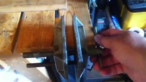 stanley   aluminum woodworking vise youtube