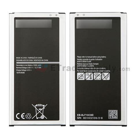 Batre Baterai Battery Samsung J7 2016 Original for samsung galaxy j7 2016 sm j710 battery replacement grade s etrade supply