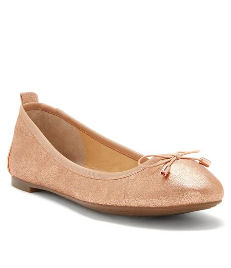 dillards flat shoes nalan leather flats dillards