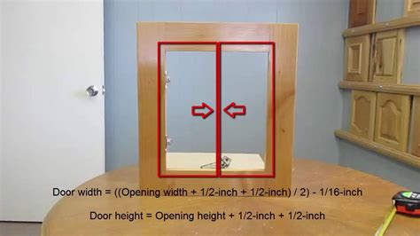 How To Measure Cabinet Openings For New Cabinet Doors Measuring Cabinet Doors