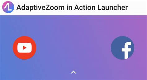 gif app android launcher v33 adds impressive adaptivezoom app animations android central