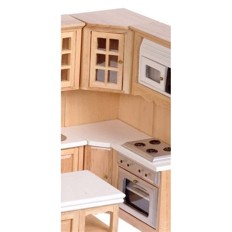 dollhouse kitchen cabinets corner cabinet oak dollhouse kitchen cabinets superior