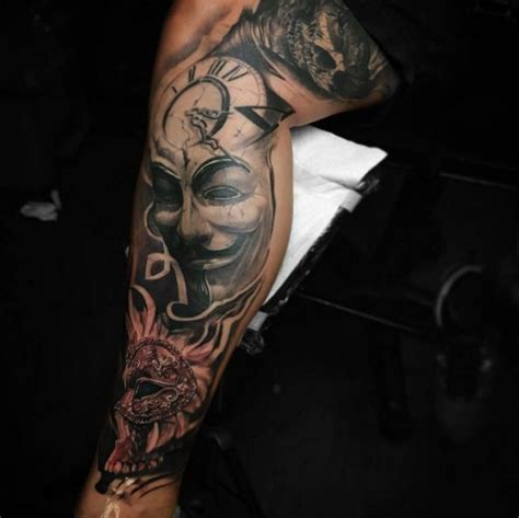 guy fawkes tattoo 18 best images about tatoos on
