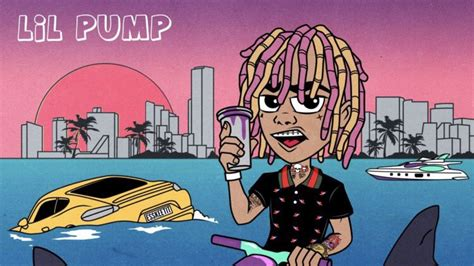 lil pump wallpaper cartoon lil pump drops debut tape featuring gucci mane 2 chainz