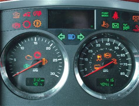Kenworth Dash Warning Lights by Any Truck Any Time Today S Trucking