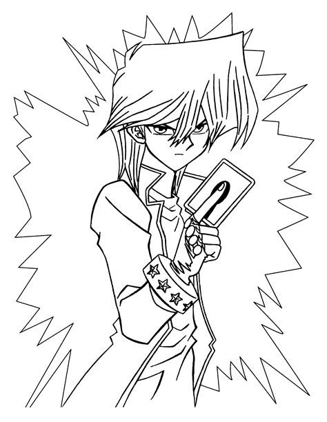 Coloring Page Yu Gi Oh by Free Yugioh Magician Coloring Pages