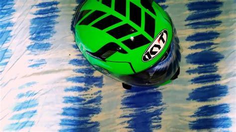 Helm Kyt K 2 Rider Green Fluo look around singkat helm kyt k2 rider fluo pake