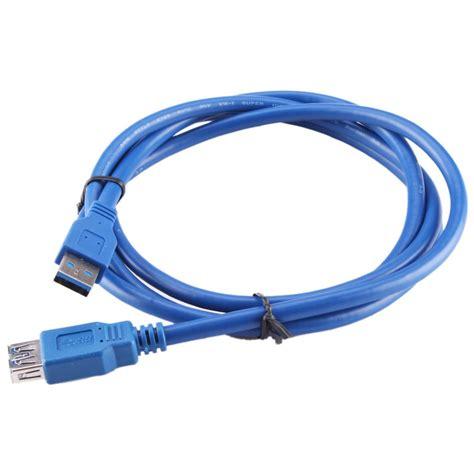 kabel ekstensi usb 3 0 ke 1 5m blue jakartanotebook