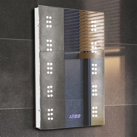 Led Bathroom Lights With Shaver Socket Waterproof Led Bathroom Mirror With Shaver Socket Light
