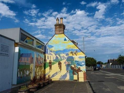 Large Wall Mural the murals of invergordon amusing planet