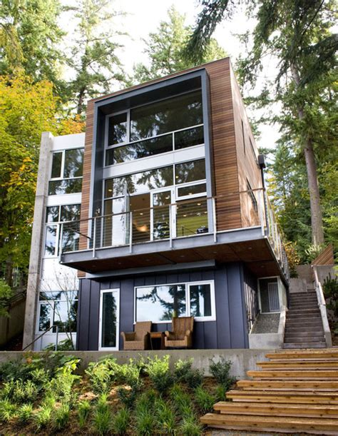 coates design architects dorsey residence from west contemporary exterior