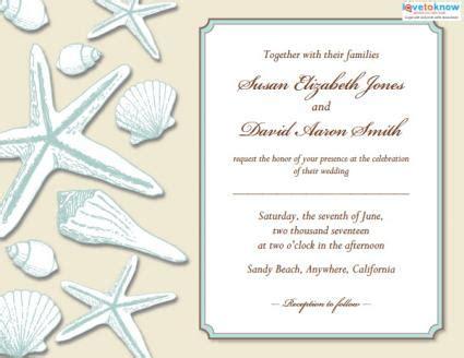 Wedding Shower Invitation Examples
