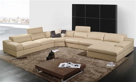 U Shaped Leather Sofa China U Shaped Combination Large Family Function Leather Sofa A002 2 China Sofa Leather Sofa