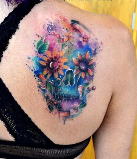 imagenes de tatuajes de una calabera calavera by javi wolf tatuajes para mujeres