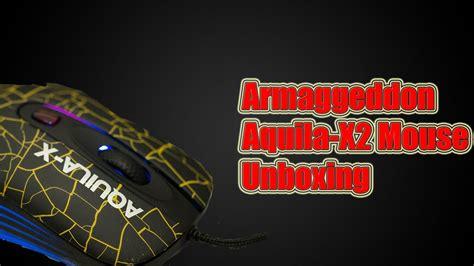 Mouse Aquila X2 armaggeddon aquila x2 mouse unboxing