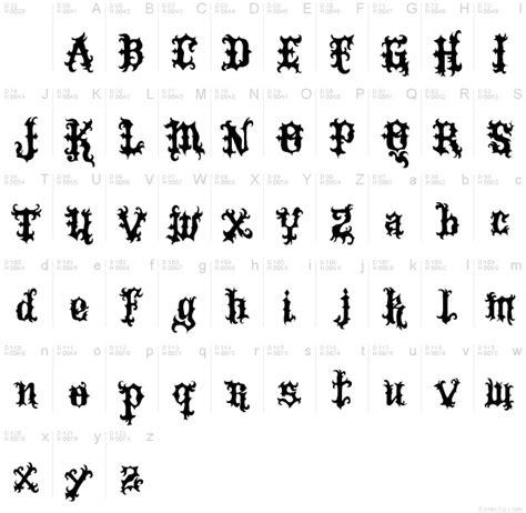 printable tattoo fonts free free tattoo fonts3d tattoos