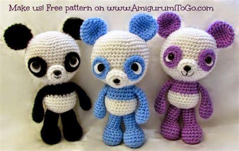 the pattern en francais l atelier de tiphanie panda bleu patron gratuit et en