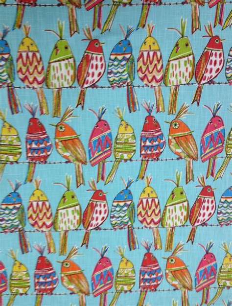 upholstery fabric birds sitting pretty bird upholstery fabric whimcical bird fabric