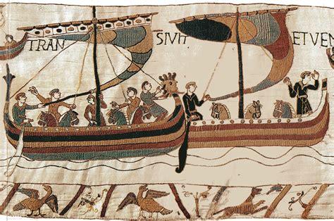 Tapisserie De Bayeux Description by File Bayeux Horses Boats Jpg
