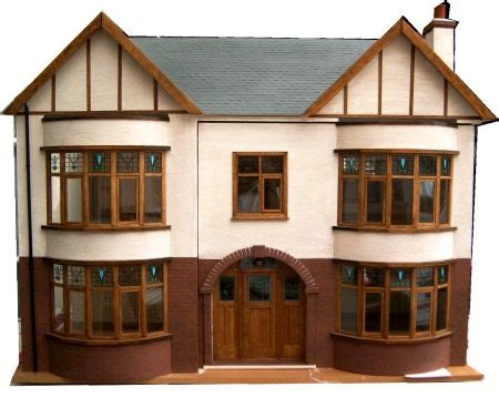 1930s dolls house style front doors and house on pinterest